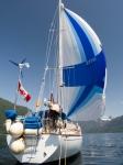 Quoddy's Run sailing in Desolation Sound