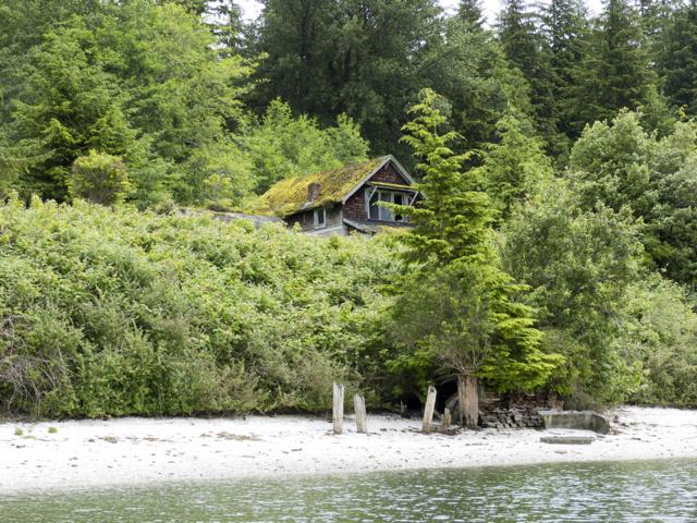 Abandoned house abandoned village