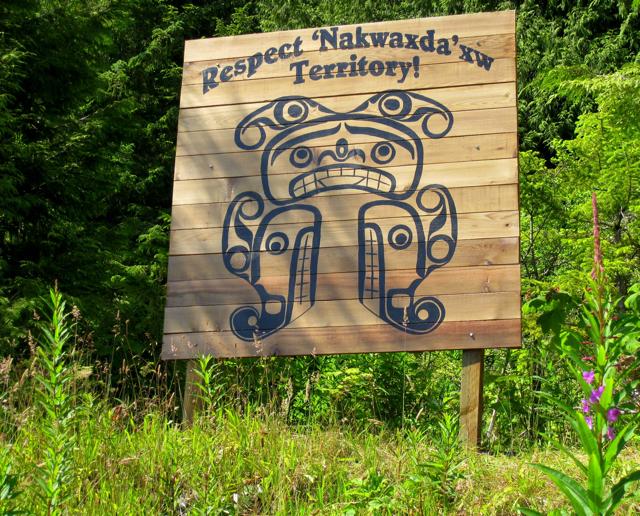 Nakwaxda'xw Territory