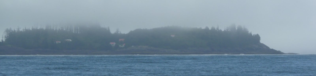 Egg Island in the fog