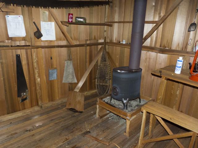 Proctor's Logger's Cabin interior 2
