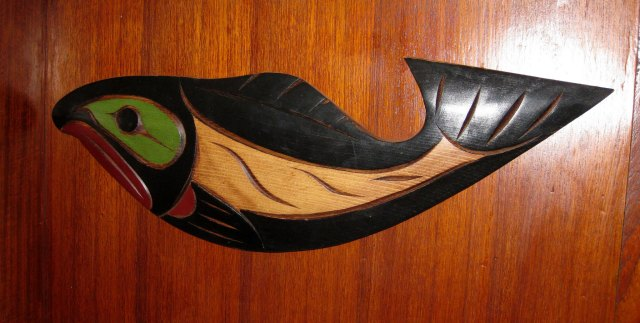 Coast Salish Salmon