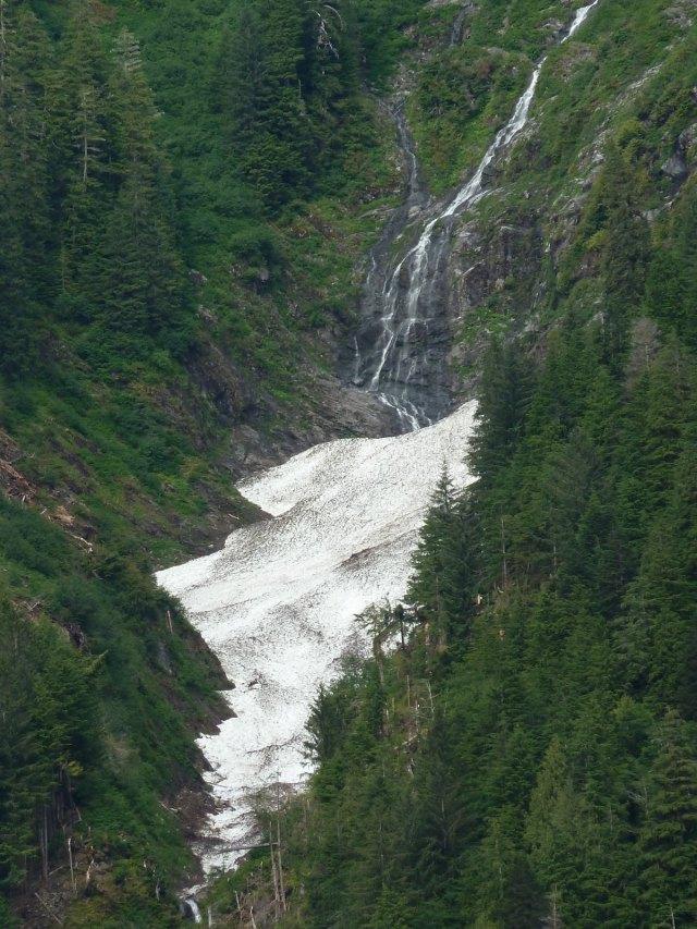 Meltwater cascades