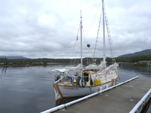 Wasco at Dock in Shearwater