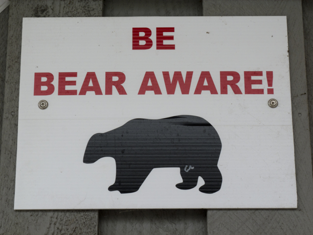Be Bear Aware