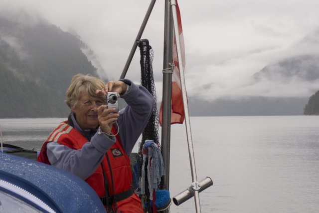 Elisabeth in Fiordland