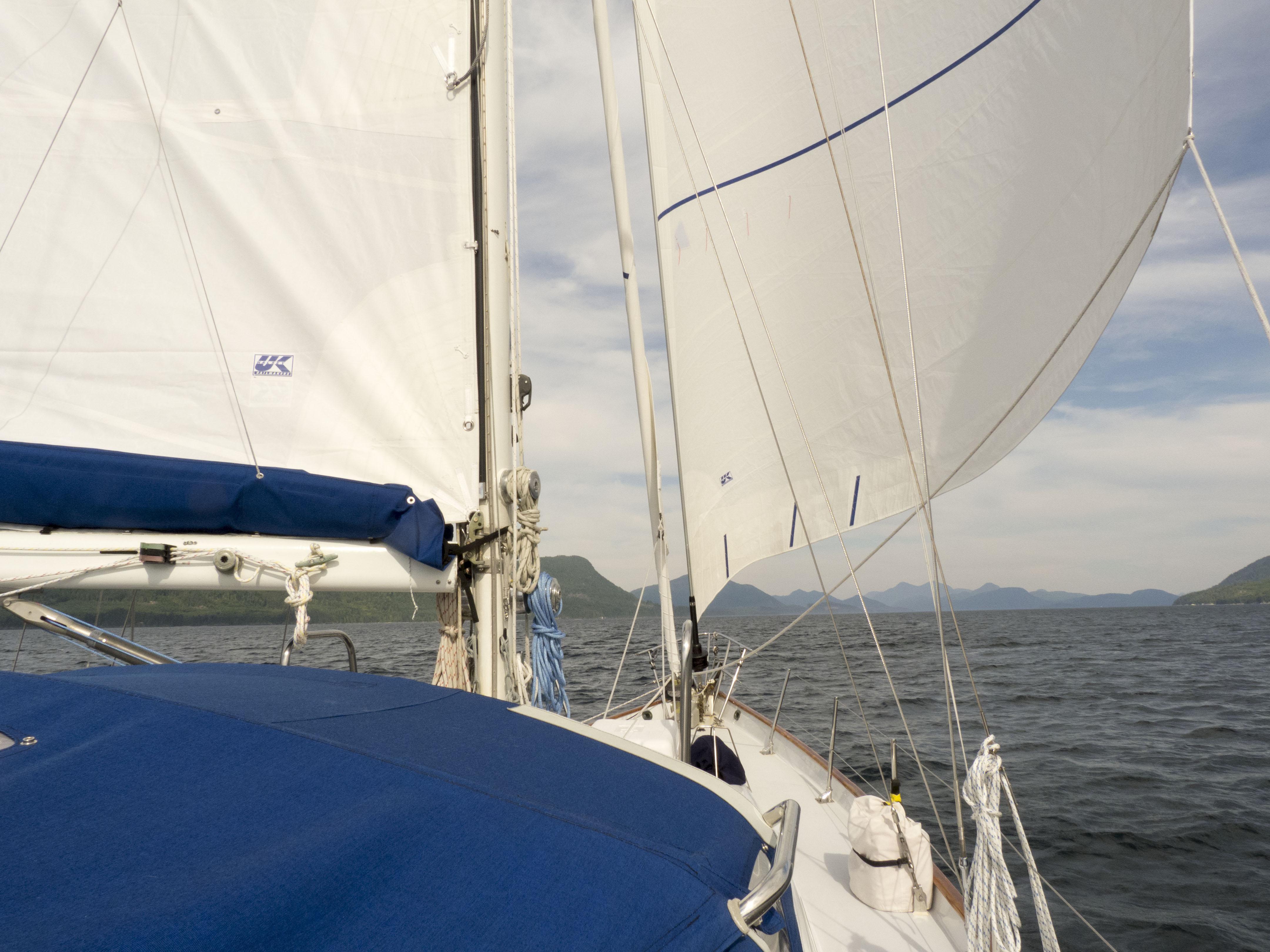 sailing back to nanaimo 2012